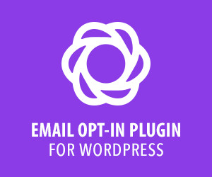 Bloom Email Optin Plugin Ad