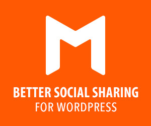 Monarch social sharing wordpress plugin ad