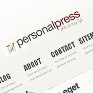 New Theme: PersonalPress