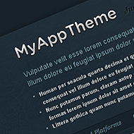New Theme: MyApp