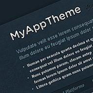 New Theme: MyApp