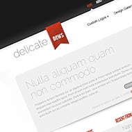 New Theme: DelicateNews