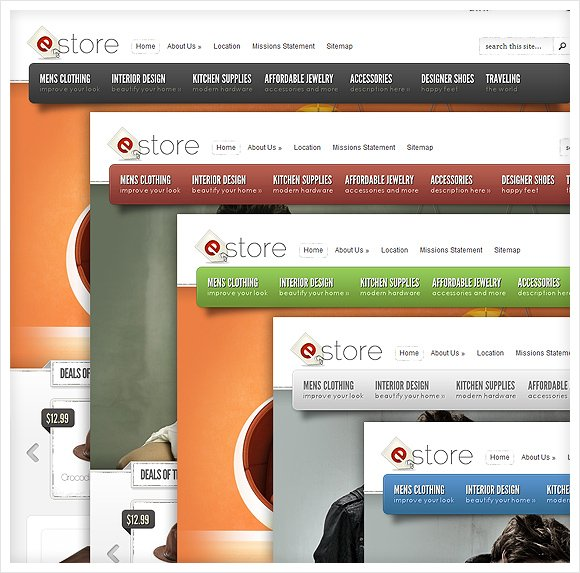 New Theme: eStore | Elegant Themes Blog