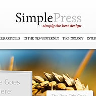 Theme Sneak Peek: SimplePress