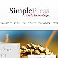 Theme Sneak Peek: SimplePress
