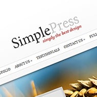 New Theme: SimplePress