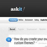 Theme Sneak Peek: AskIt