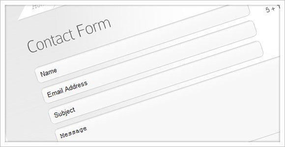 New Page Templates Added To All Themes – Customer Contact Form Template