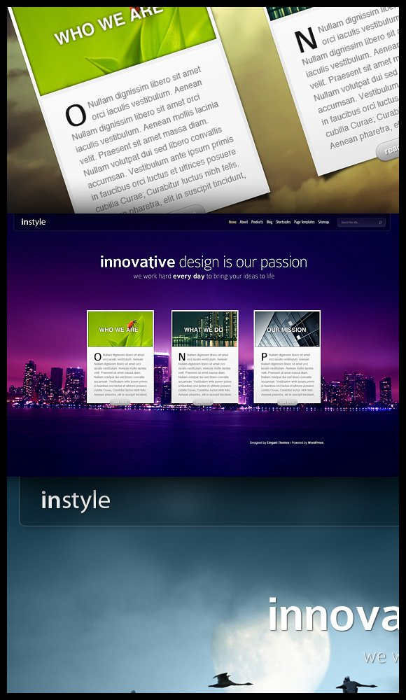 New Theme Instyle Elegant Themes Blog