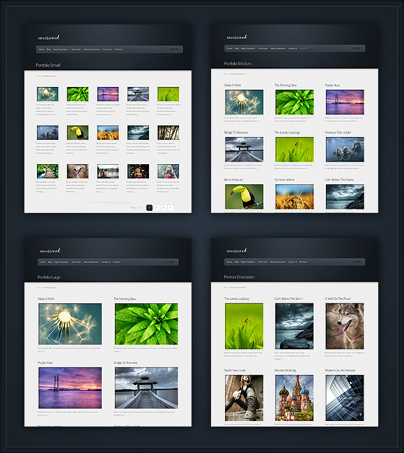 Thesis theme custom category page
