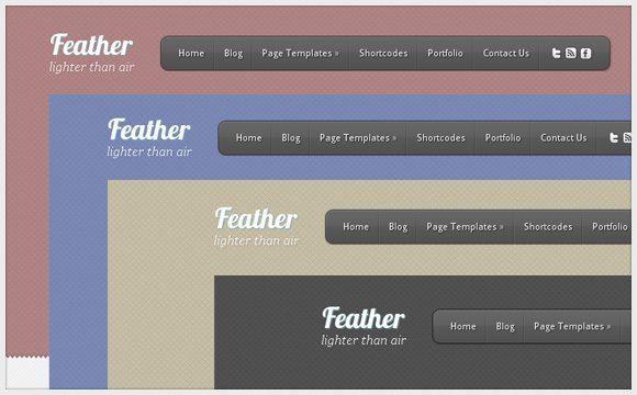 Elegant Feather Wordpress Theme: A Professional CMS Business Theme ...