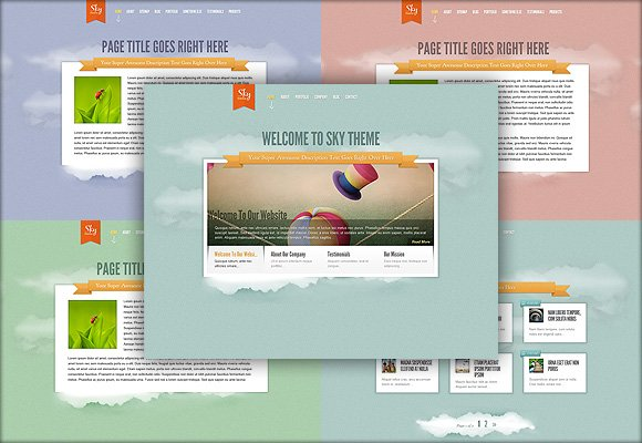 Elegantthemes - Sky v1.0 For WordPress