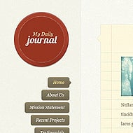 Theme Sneak Peek: DailyJournal