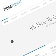 Theme Sneak Peek: Trim