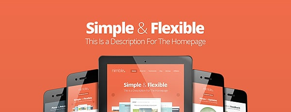 Nimble, Our New Bold & Beautiful Theme