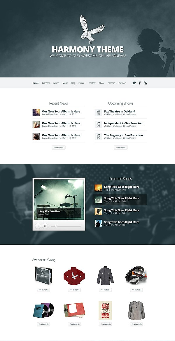 Harmony, A Versatile Theme For Bands