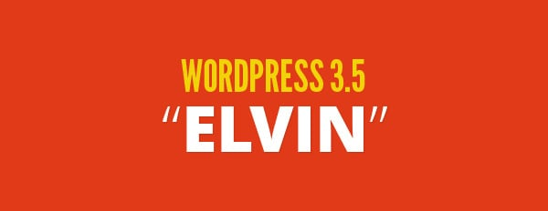 WordPress 3.5 Has Been Released