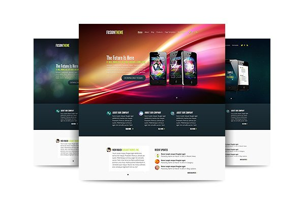 Fusion, A Fun And Flashy New Theme | Elegant Themes Blog