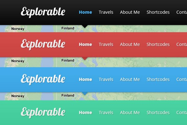 how to change header font in sparkling theme wordpress