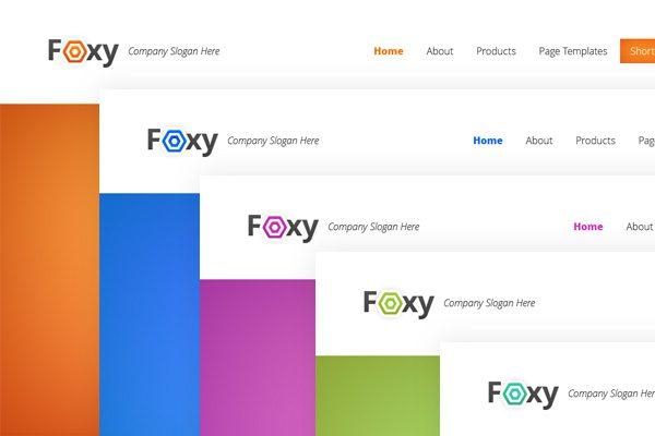 ElegantThemes wordpress企业主题 – Foxy