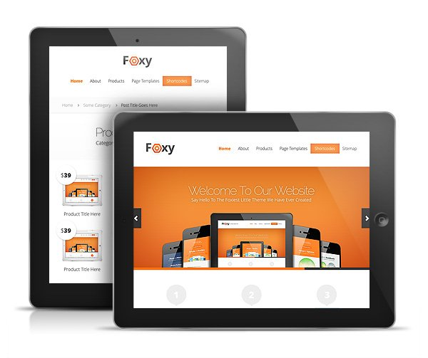 ElegantThemes wordpress企业主题 – Foxy