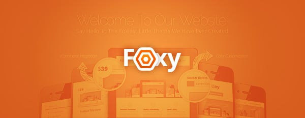 Say Hello To Our Foxy New Business Theme