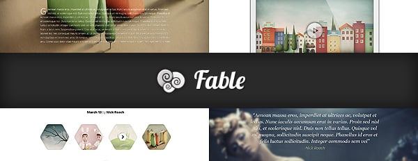 Once Upon A Time, There Was Beautiful Theme Named Fable