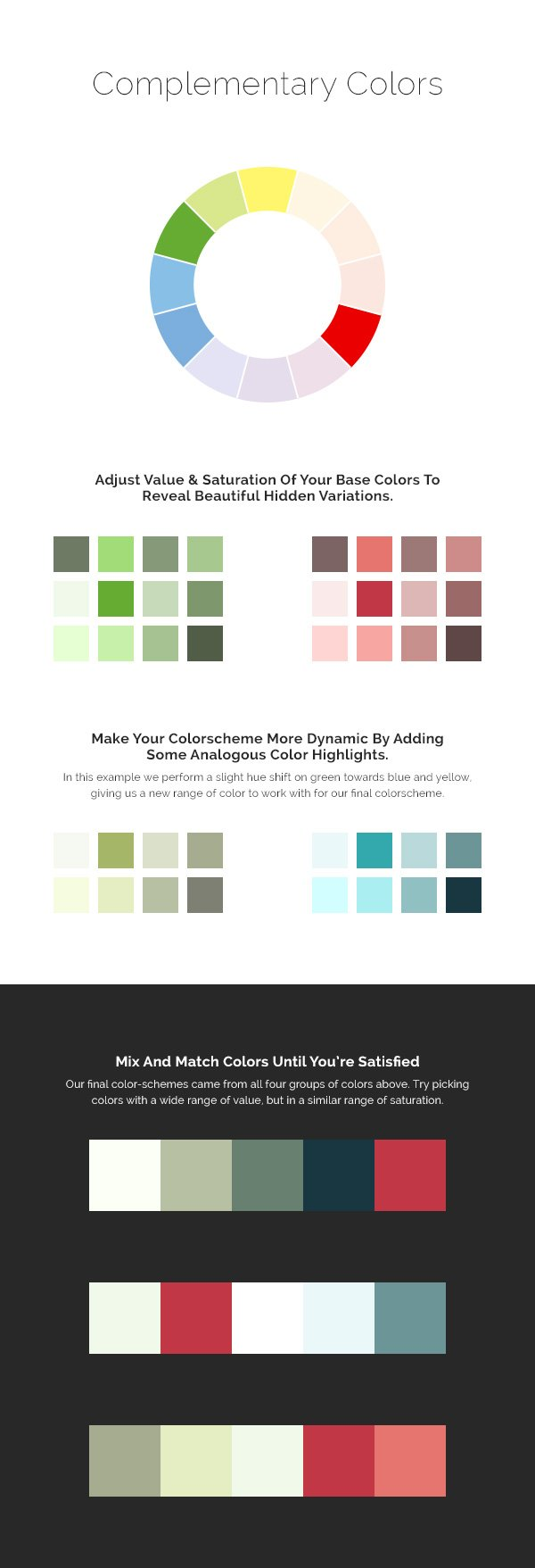 Use Complimentary Colors To Begin A Beautiful Color Scheme