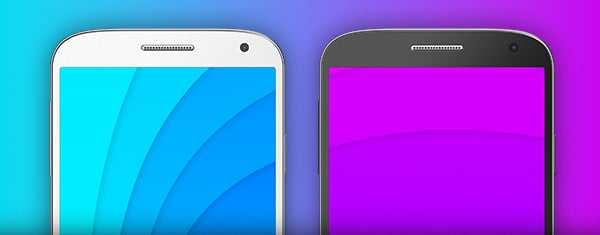 Free Galaxy S4 PSD Templates