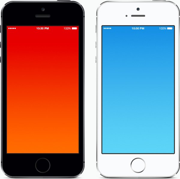Free Open Source IPhone 5s PSD Templates For Use In Your Websites