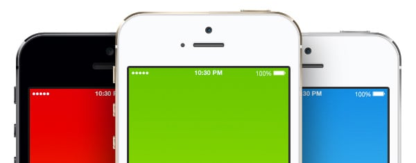 Free & Open Source iPhone 5s PSD Templates For Use In Your Websites And Beyond