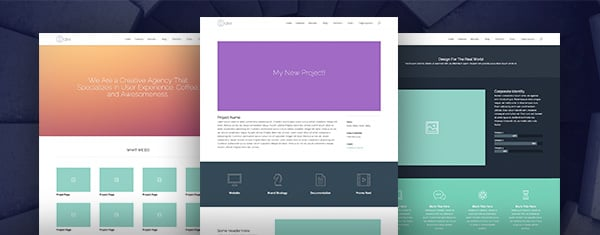 On The Sixth Day Of Divi, We Created The Premade Portfolio Layout Pack
