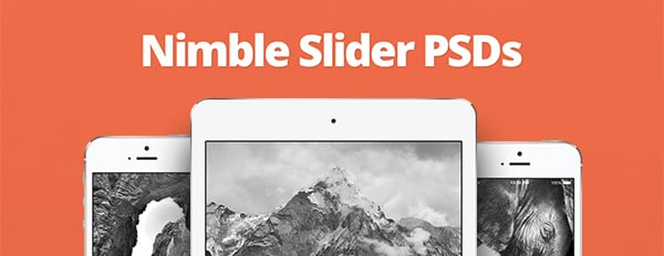 Polish Your Nimble Theme With These 8 Perfectly-Sized Slider PSD Templates