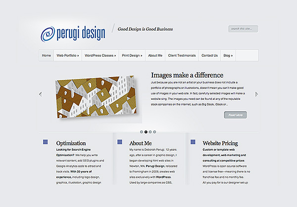 Pergui design is my web design company.