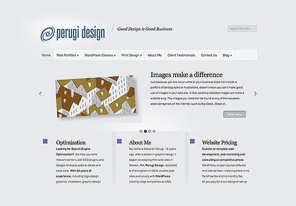 Pergui design is my web design company.
