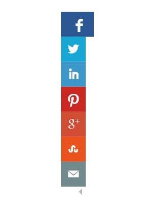 Floating Social Media Sharing Buttons