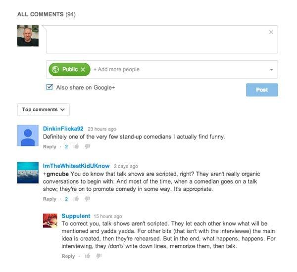 Google+ Comments