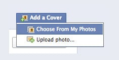 Choose a Cover Photo