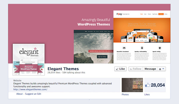 How to Create a Facebook Page for Your WordPress Website | Elegant
