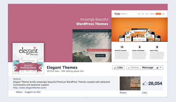 Elegant Themes on Facebook