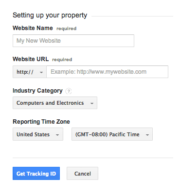 Setting Up Your Property