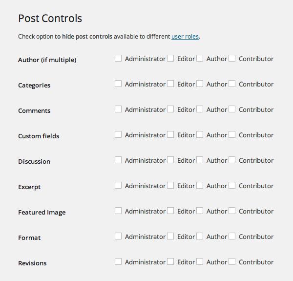WP-CMS Post Control