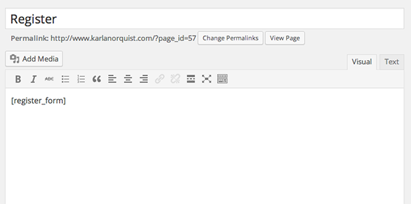 WordPress-LMS-Restrict-Pro-Register-Shortcode