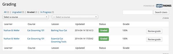 WordPress-LMS-Turnkey-Grading