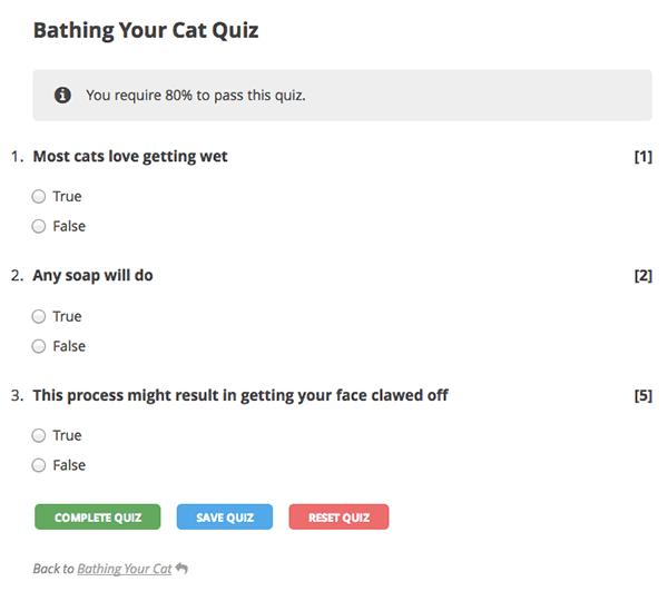 WordPress-LMS-Turnkey-Quiz-Frontend