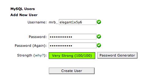 Enter All Fields of New User