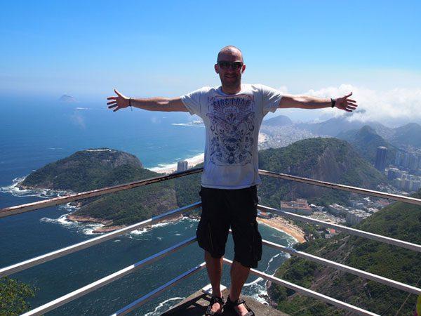 Kevin in Rio de Janeiro, Brazil