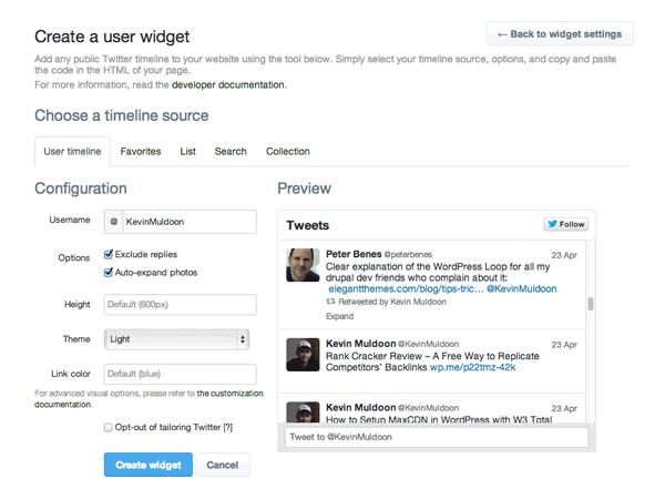 The Best Twitter Widget Plugins for WordPress | Elegant