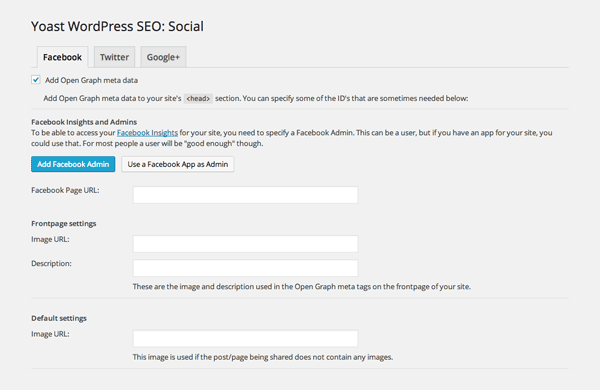 WordPress SEO Social