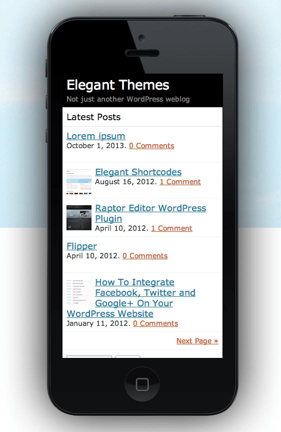 The Best WordPress Mobile Plugins | Elegant Themes Blog